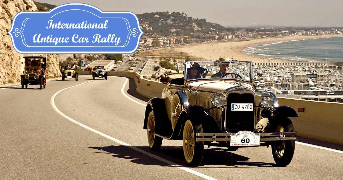 International Vintage car and motorcyle rally Barcelona – Sitges ...